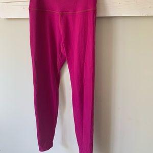 Beyond yoga pink med leggings